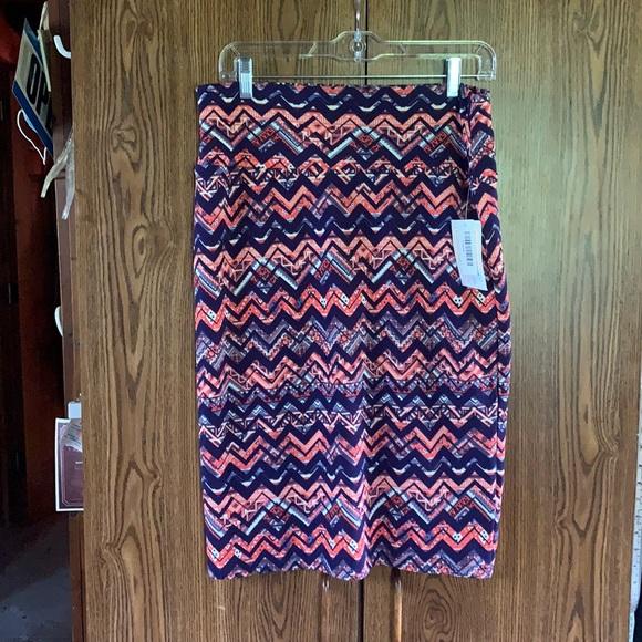 🔥7/20🔥 Lularoe Cassie Skirt Sz L NWT